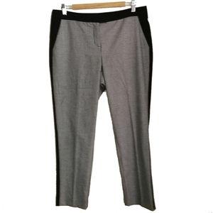 VINCE CAMUTO Black & White Check Pants, size 10